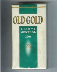 Old Gold Lights Menthol 100s soft box cigarettes 10 cartons