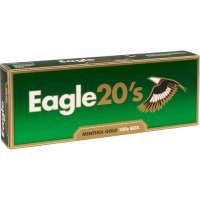 Eagle 20's Menthol Gold 100's Cigarettes 10 cartons