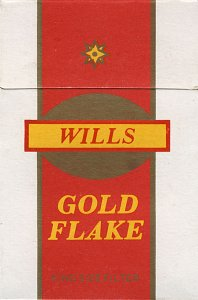 GOLD FLAKE Wills King Size Filter cigarettes 10 cartons