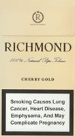 RICHMOND CHERRY GOLD SUPER SLIMS 100S cigarettes 10 cartons