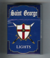Saint George Lights Cigarettes 10 cartons