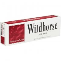 Wildhorse Red Box Cigarettes 10 cartons