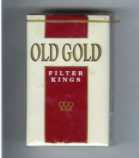 Old Gold Filter Kings soft box cigarettes 10 cartons