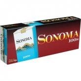 Sonoma Blue 100's Soft Pack cigarettes 10 cartons