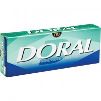 Doral Menthol Gold 100s Box cigarettes 10 cartons