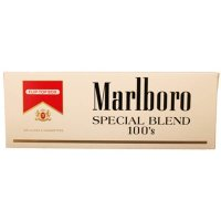 Marlboro Red Special Blend 100's Box cigarettes 10 cartons