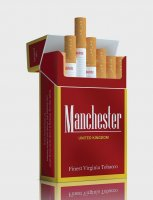 Manchester Red king size cigarettes 10 cartons