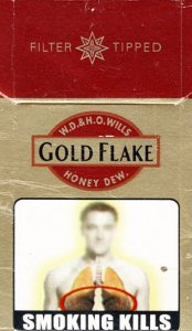 GOLD FLAKE W.D. & H.O. Wills Honey Dew. Filter Tipped 10 cartons