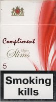 COMPLIMENT Super Slims 5 cigarettes 10 cartons