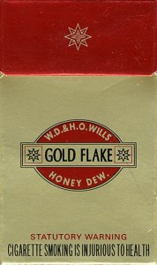 GOLD FLAKE W.D. & H.O. Wills Honey Dew 10 cartons