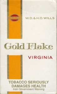 Gold Flake Virginia W.D. & H.O. Wills (Irish warning) 10 cartons