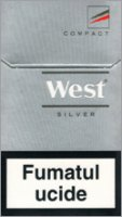 West Silver Compact Cigarettes 10 cartons
