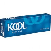 Kool Blue Menthol Kings Box cigarettes 10 cartons