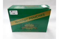 500G GOLDEN VIRGINIA CLASSIC ROLLING TOBACCO *2 total 1000G