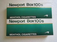 Newport Box 100s Cigarettes 20 Cartons