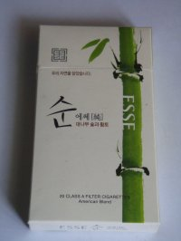 ESSE BAMBOO non -menthol cigarettes 10 cartons