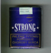 Strong Blue Cigarettes 10 cartons