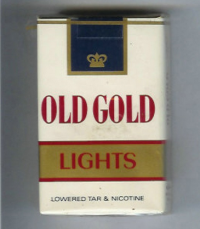 Old Gold Lights soft box cigarettes 10 cartons
