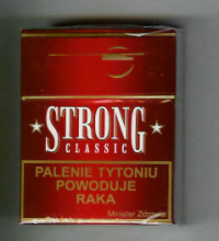 Strong Red Cigarettes 10 cartons