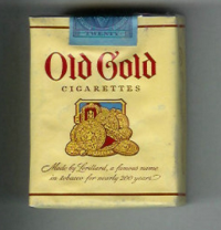 Old Gold soft box cigarettes 10 cartons