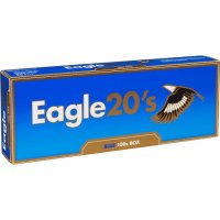 Eagle 20's Blue 100's Cigarettes 10 cartons