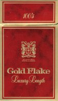Gold Flake Luxury Lenght 100's W.D. & H.O. Wills Bristol & Londo
