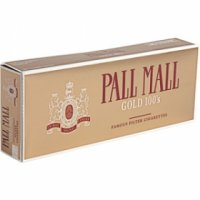 Pall Mall Gold 100's cigarettes 10 cartons