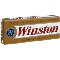 Winston lights 100's cigarettes 10 cartons