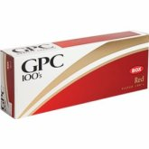 GPC Red 100's cigarettes 10 cartons