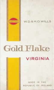 GOLD FLAKE Virginia W.D. & H.O. Wills Made In The Republic Of Ir