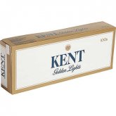 Kent Golden Lights 100's Soft Pack cigarettes 10 cartons