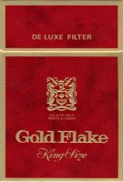 Gold Flake King Size de Luxe Filter W.D. & H.O. Wills Bristol &