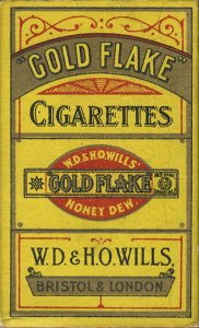 Gold Flake Cigarettes Gold Flake W.D. & H.O. Wills' Honey Dew. W
