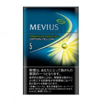 MEVIUS PUREMIUM MENTHOL OPTION YELLOW 5 cigarettes 10 cartons