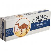 Camel Blue 99's Box cigarettes 10 cartons