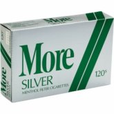 More Menthol Silver 120's Cigarettes 10 cartons