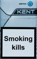 Kent iSwitch Silver Cigarettes 10 cartons