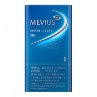 MEVIUS SUPER LIGHTS 100s 6 cigarettes 10 cartons