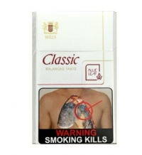 Wills Classic Mild Cigarettes 10 cartons