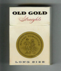 Old Gold Straights Long Size hard box cigarettes 10 cartons