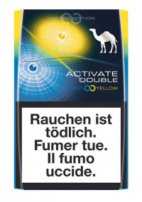 Camel Activate Double Mint & yellow cigarettes 10 cartons