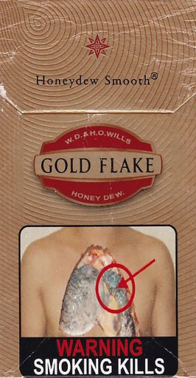 GOLD FLAKE W.D. & H.O. Wills Honey Dew. Honeydew Smooth (Red)