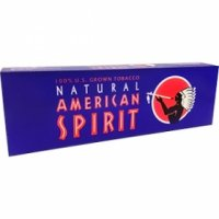 American Spirit US Grown Full Bodied Dark Blue Cigarettes