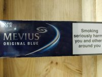 MEVIUS ORIGINAL BLUE cigarettes 10 cartons