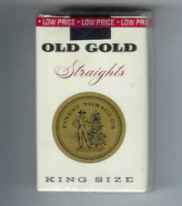 Old Gold Straights King Size soft box cigarettes 10 cartons