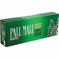 Pall Mall Menthol 100's cigarettes 10 cartons