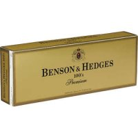 Benson & Hedges 100's Box cigarettes 10 cartons