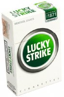 Lucky Strike Menthol cigarettes 10 cartons