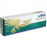 USA Gold Menthol Dark Green Box cigarettes 10 cartons