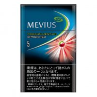 MEVIUS PREMIUM MENTHOL OPTION RED 5 cigarettes 10 cartons